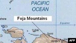 Dãy núi Foja nằm về phía tây của thành phố cảng Jayapura, thuộc tỉnh Papua, Indonesia