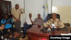 Le chef de l'opposition à Zanzibar, Seif Shariff Hamad.