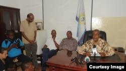 Maalim Seif Shariff Hamad, leader de l'opposition à Zanzibar