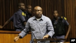 Nigerian terror suspect Henry Okah, in court in Johannesburg, (File photo).