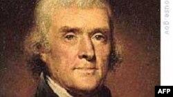 Tomas Jefferson - erkin diyor poydevorini qurgan arbob