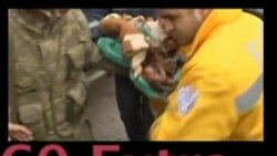VOA60 Extra - 2-Week-Old Baby Survives Earthquake