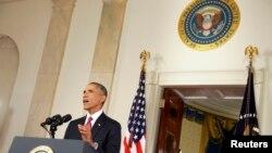 Tổng thống Obama đọc diễn văn trình bày sách lược chống nhóm Nhà nước Hồi giáo. 10/9/14