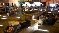 برچيده شدن چادرهای جنبش اشغال وال استريت