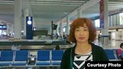 香港居民王艳上访北京被拒入境后返回香港(六四天网)