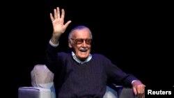 Stan Lee, au Saban Theatre à Beverly Hill, le 22 août 2017. REUTERS / Mario Anzuoni.