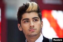 "FILE - Zayn Malik, former member of band ""One Direction."""