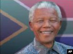 "Nelson Mandela, author of ""Hope,"" the signature song of the 2010 World Cup"