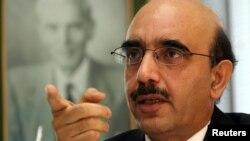 پاکستان کے مستقل مندوب مسعود خان (فائل فوٹو)