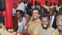 """Activistas intensificam """"cruzada"""" a favor da democracia em Angola - 1:32"""