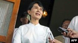 Bà Aung San Suu Kyi, nhà lãnh đạo đấu tranh cho dân chủ Miến Ðiện