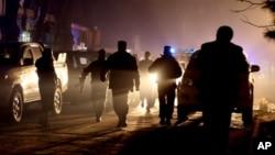 حملۀ انتحاری در وزیراکبرخان کابل