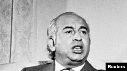 سابق وزیر اعظم ذوالفقار علی بھٹو (فائل فوٹو)