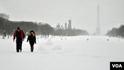 Snow, Washington DC