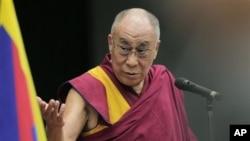 西藏精神領袖達賴喇嘛(資料圖片)