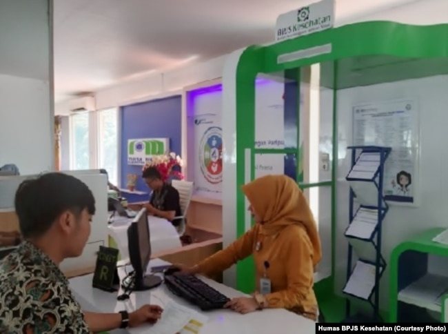 Konter BPJS Kesehatan di Mal Layanan Publik, Sumedang, Jawa Barat. (Foto: Humas BPJS Kesehatan).jpg