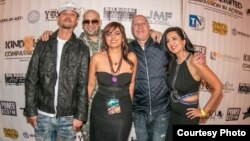 A Kind-Hearted Compassion in Action Foundation charity event included performers Bizzy Bone from Bone Thugs-n-Harmony and Mally Mall, foundation co-founder Pamela Tahim, music manager Steve Lobel, and co-founder Dr. Sonia Singh.