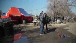 亲俄人士在乌克兰东端设检查站