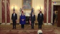 ԱՄՆ Պետդեպարտամենտը հյուրընկալել է Ավստրալիայի արտգործնախարարին և պաշտպանության նախարարին
