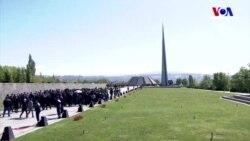 Ermenistan'da Siyasi Düşmanlıklara '24 Nisan' Arası