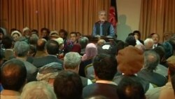 AFGHANISTAN ELECTIONS VOSOT