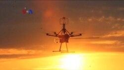 Drone untuk Deteksi Dini Tornado