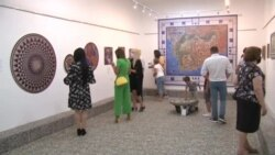 Охридскиот уметник Никола Упевче ја претстави својата најнова изложба