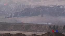 加沙以色列邊界暴力事件1人死數百人傷