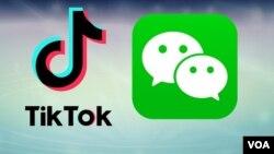 TikTok dan WeChat ikut terdampak akibat sengketa teknologi dan spionase antara Washington dan Beijing (foto: ilustrasi).
