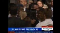 Laporan Langsung VOA untuk MetroTV: Jelang Debat Presidensial AS Pertama