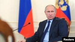 俄罗斯总统普京 (档案照)