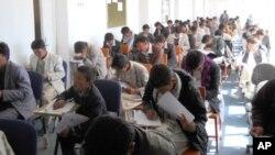 امتحانات کانکور در حوزه بامیان با اشتراک بیش از سه هزار داوطلب به آرامی برگزار شد