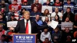 ရီပတ္ဘလီကင္ သမၼတေလာင္းေနရာအတြက္ ယွဥ္ၿပိဳင္ေနသူ Donald Trump