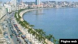 Avenida 4 de Fevereiro, a Marginal, em Luanda