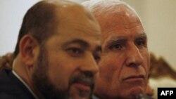 Руководители ФАТХ и ХАМАС
