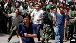 Протест у Сіньцзян-Уйгурському автономному регіоні (архівне фото)