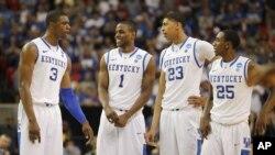 El poderío y el talento de Kentucky incluye a Terrence Jones, Darius Miller, el favorito de los comentaristas Anthony Davis y Marquis Teague.