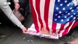 Rehine Krizinin Yıldönümünde 'Amerika'ya Ölüm' Sloganları