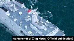 Một cảnh trong phim Điệp vụ Biển Đỏ của Trung Quốc gây tranh cãi ở Việt Nam vì nói đến Biển Đông