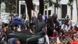 穆塔里卡宣誓就任馬拉維新總統