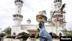 Wani masallaci da 'yan ta'ada suka kaiwa hari a jihar Adamawa