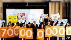 افزایش نفوس جهان به هفت میلیارد نفر