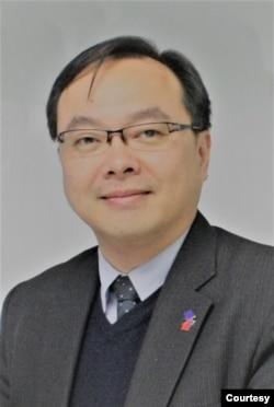位于台北的台湾欧洲联盟中心执行长郑家庆