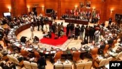 Arab Ligasiga a'zo davlatlar tashqi ishlar vazirlari Marokashning Rabot shahrida Suriya masalasini ko'rmoqda. 16-noyabr, 2011-yil