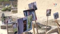 نمایشگاه عکس خیابانی در مورد وضعیت معتادین در بلخ