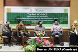 Adab-International Conference on Information and Cultural Sciences, oleh UIN Sunan Kalijaga Yogyakarta, 19-22 Oktober 2020. (Foto: Courtesy/Humas UIN SUKA)