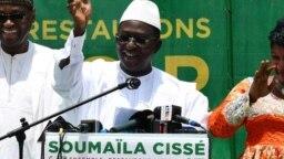Le candidat Soumaïla Cissé au Mali, le 3 août 2018. (Twitter/Soumaïla Cissé)