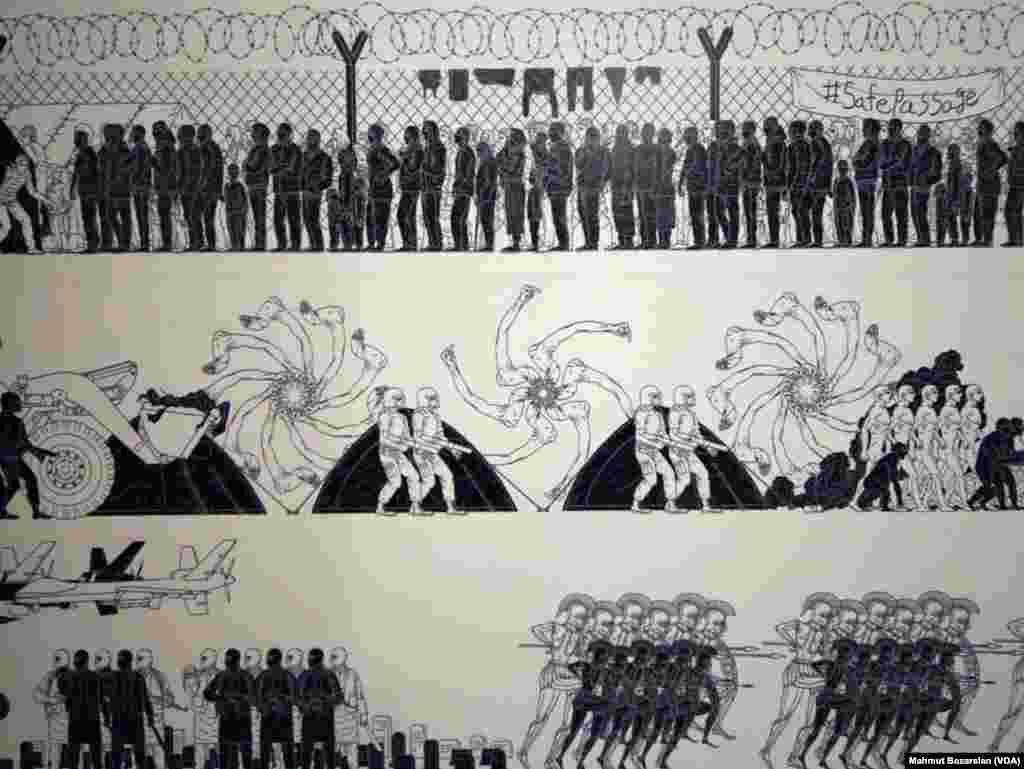 Çinli Sanatçının Gözünden Suriyeli Mülteciler
