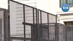 Dựng hàng rào quanh Nhà Trắng đề phòng bạo loạn