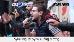 Syria kỷ niệm 5 năm ngày nổ ra cuộc xung đột (VOA60)